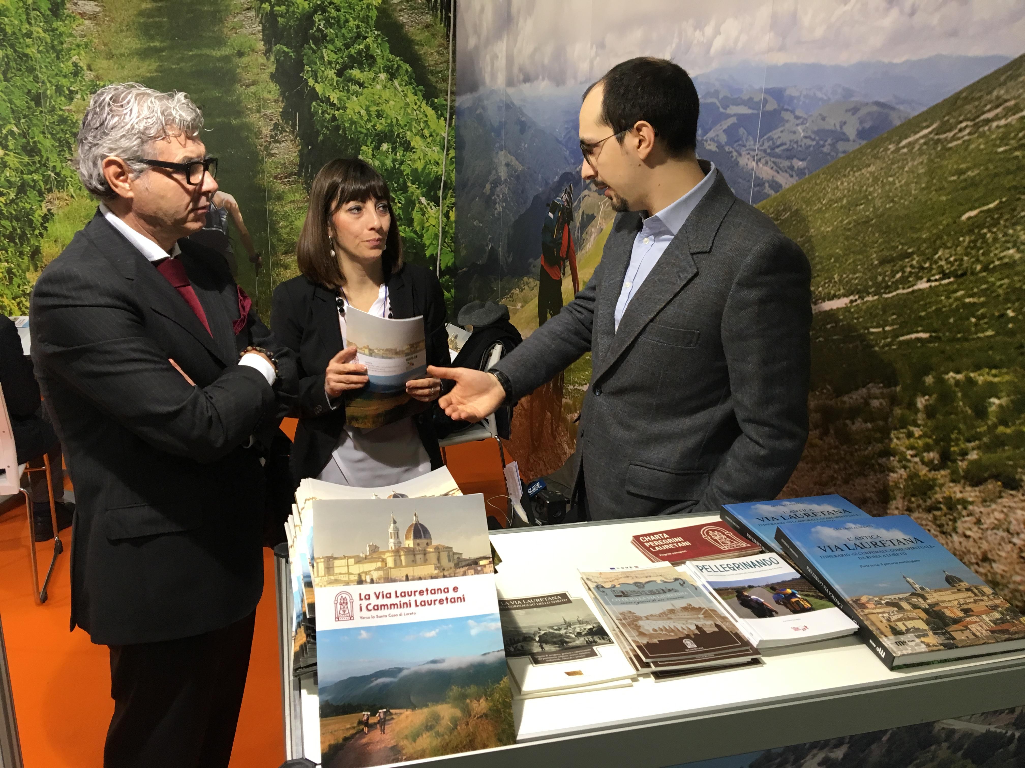 Bertolini, Lanari e Alimenti allo stand della Regione Marche