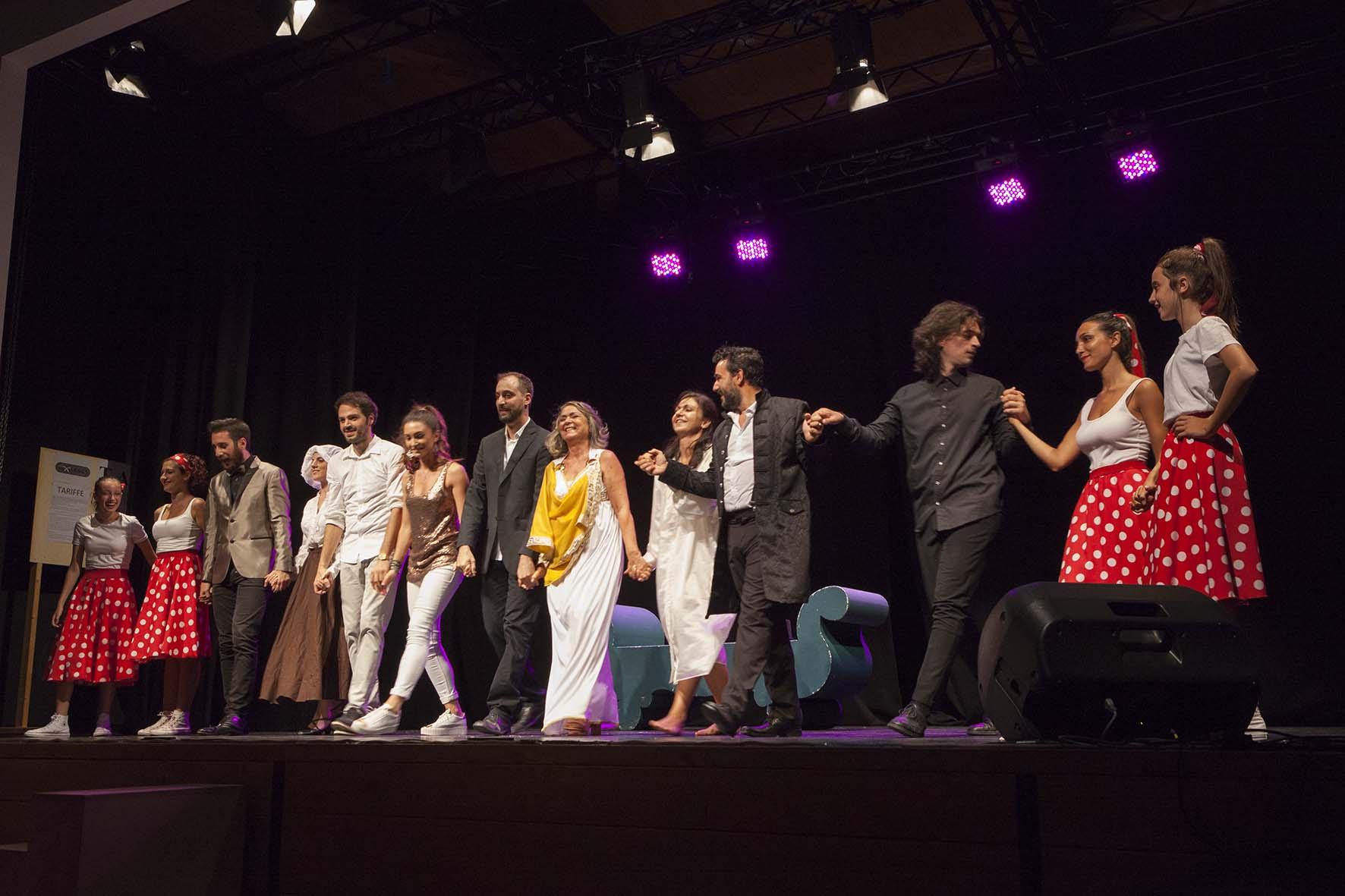 Il varietà della sibilla al teatro Gasparrini di Appignano